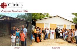 Presentamos una vista rápida, del antes y el después de la casa de Pedro y su familia.